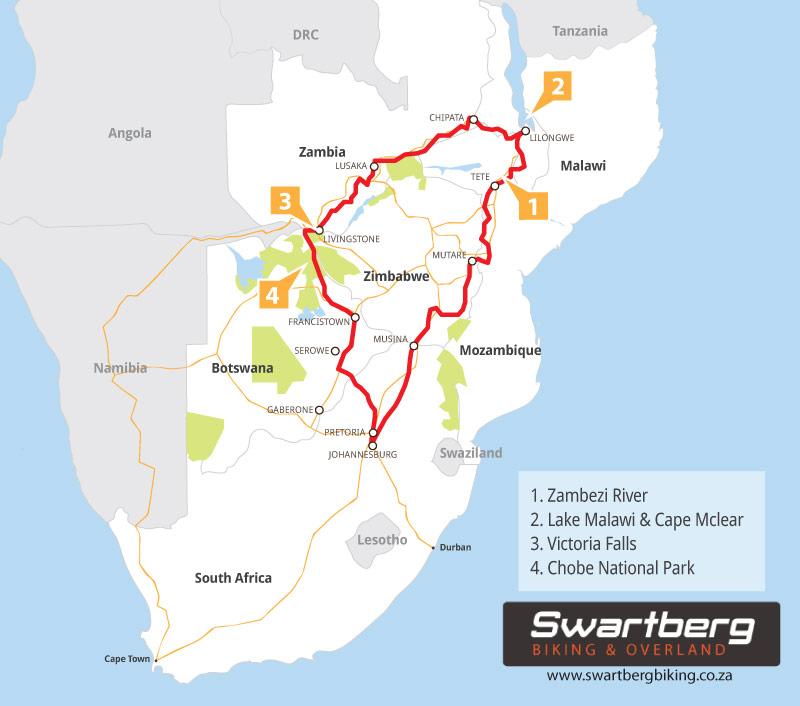 Swartberg Biking - Victoria Falls & beyond!